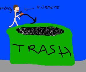 on dumpster diving essay